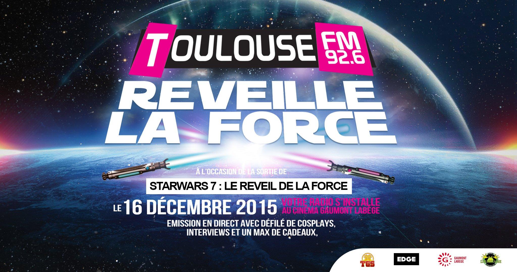 Toulouse FM promet une animation en lien avec le film toutes les 30 min durant 18 heures