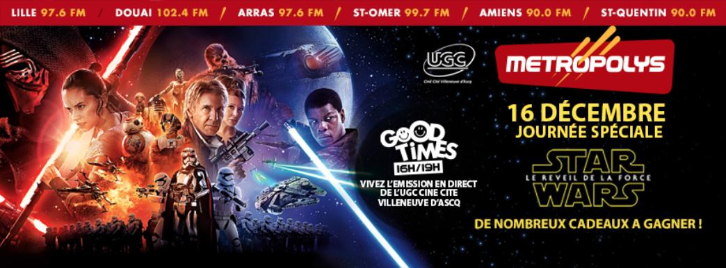 Metropolys organise sa journée spéciale Star Wars
