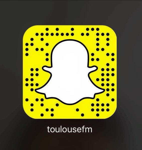 Toulouse FM sur Snapchat : toulousefm