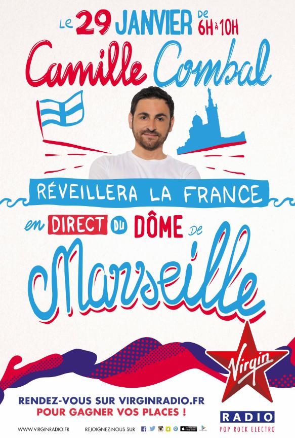 Virgin Radio investit le Dôme de Marseille