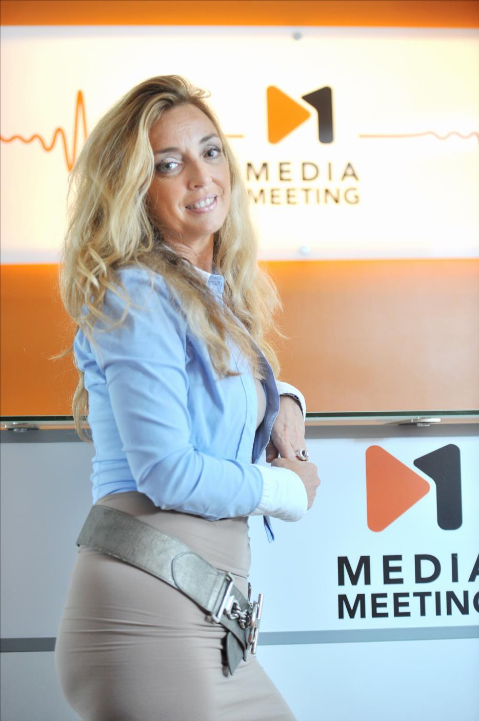 Anne-Marie de Couvreur développe Mediameeting qui devrait passer de 135 à 250 salariés d'ici à 5ans.