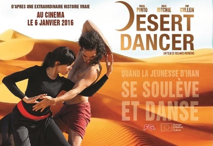 "Radio FG partenaire du film ""Desert Dancer"""