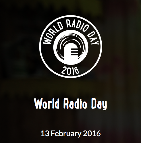 Inscrivez-vous au World Radio Day 2016
