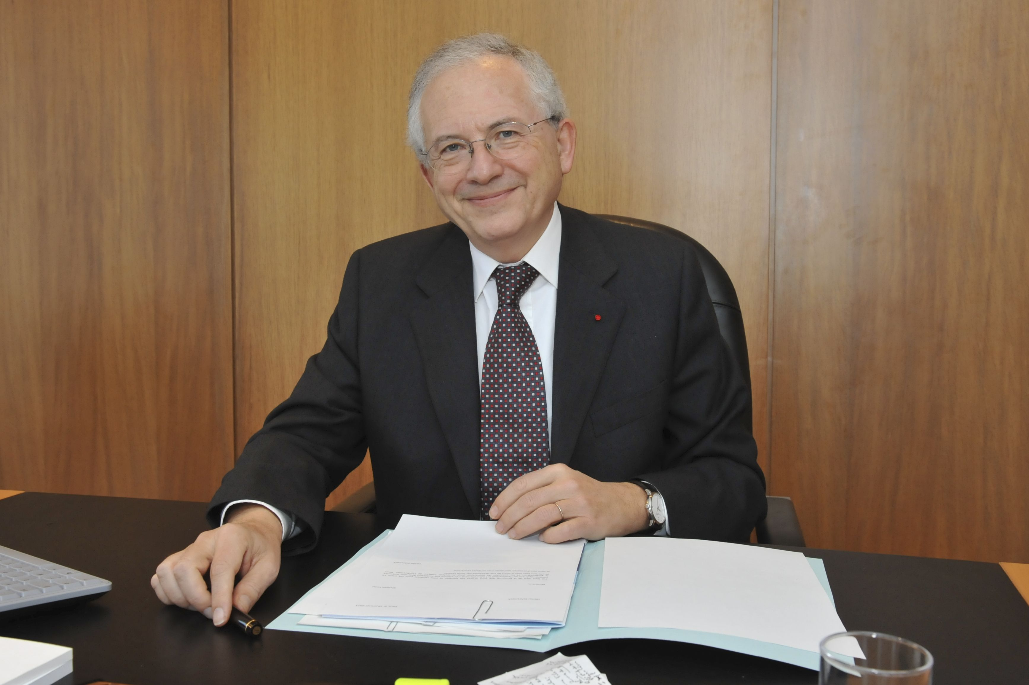 Olivier Schrameck a quitté la présidence de l'ERGA © Fabien de Chavannes