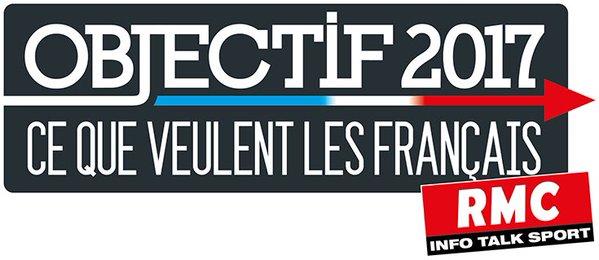 """RMC interroge les français avec """"Objectif 2017"""""""
