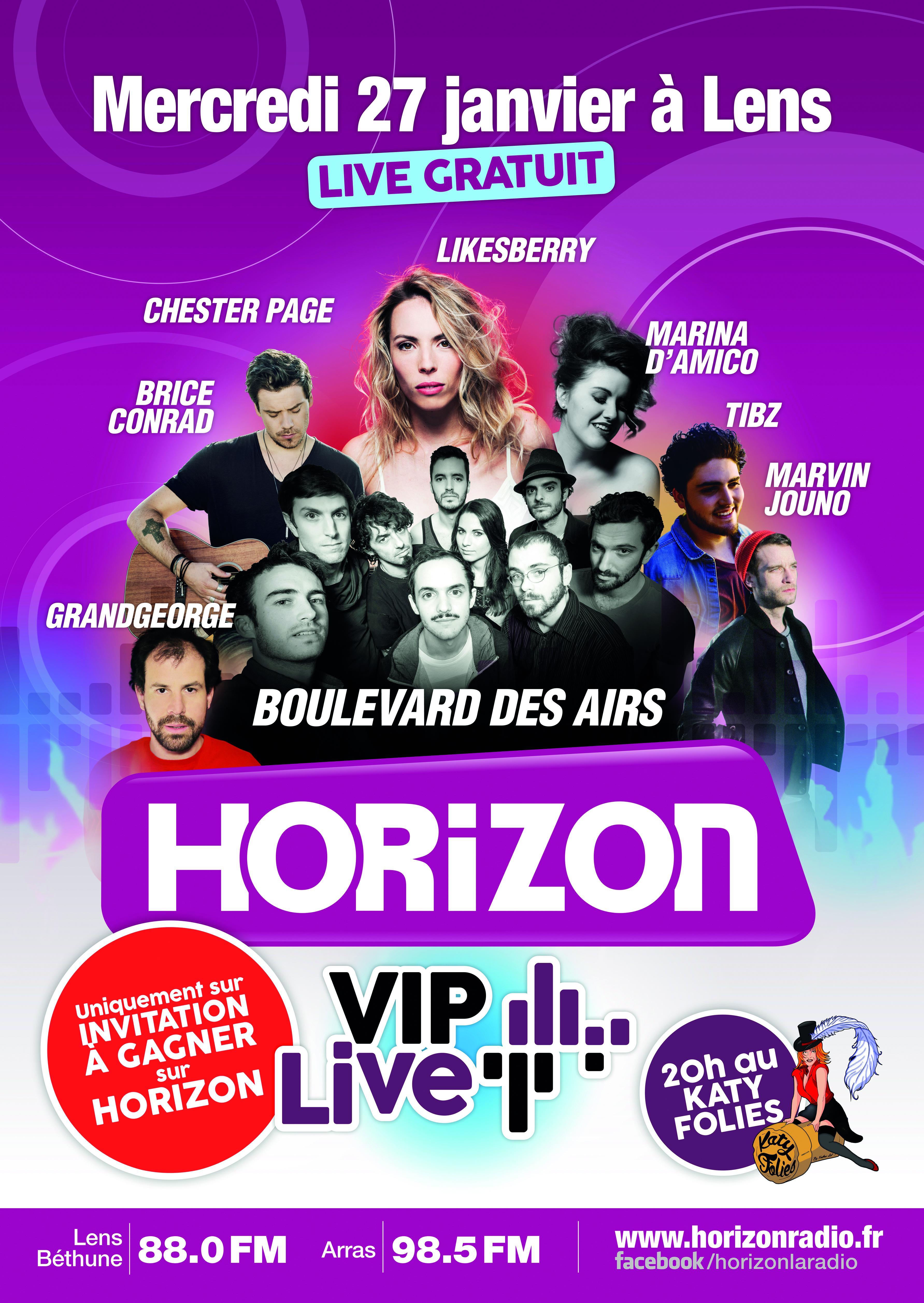 Horizon organisera son premier Horizon VIP Live