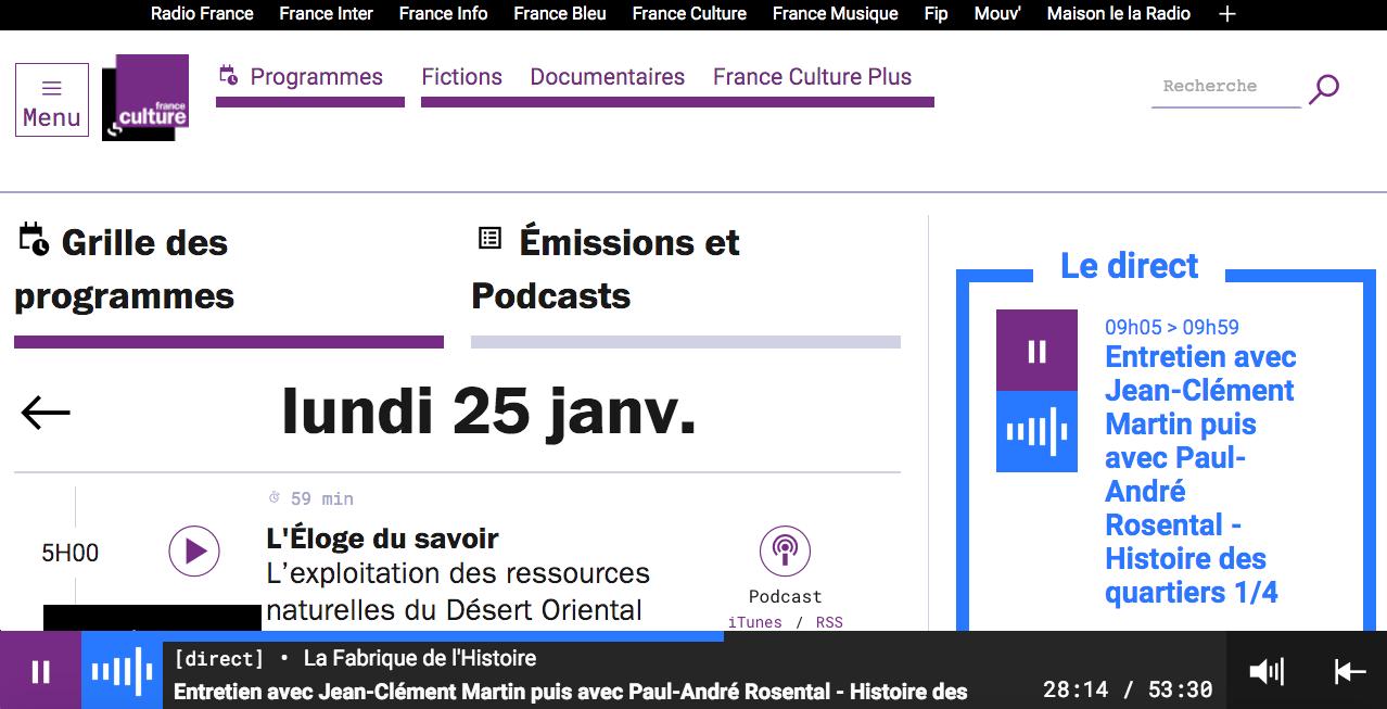 """France Culture : des émissions """"réécoutables à vie"""""""