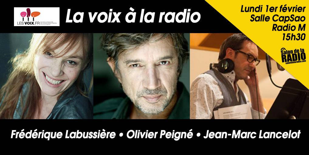 """""""Les Voix"""" de la radio au Salon de la Radio"""