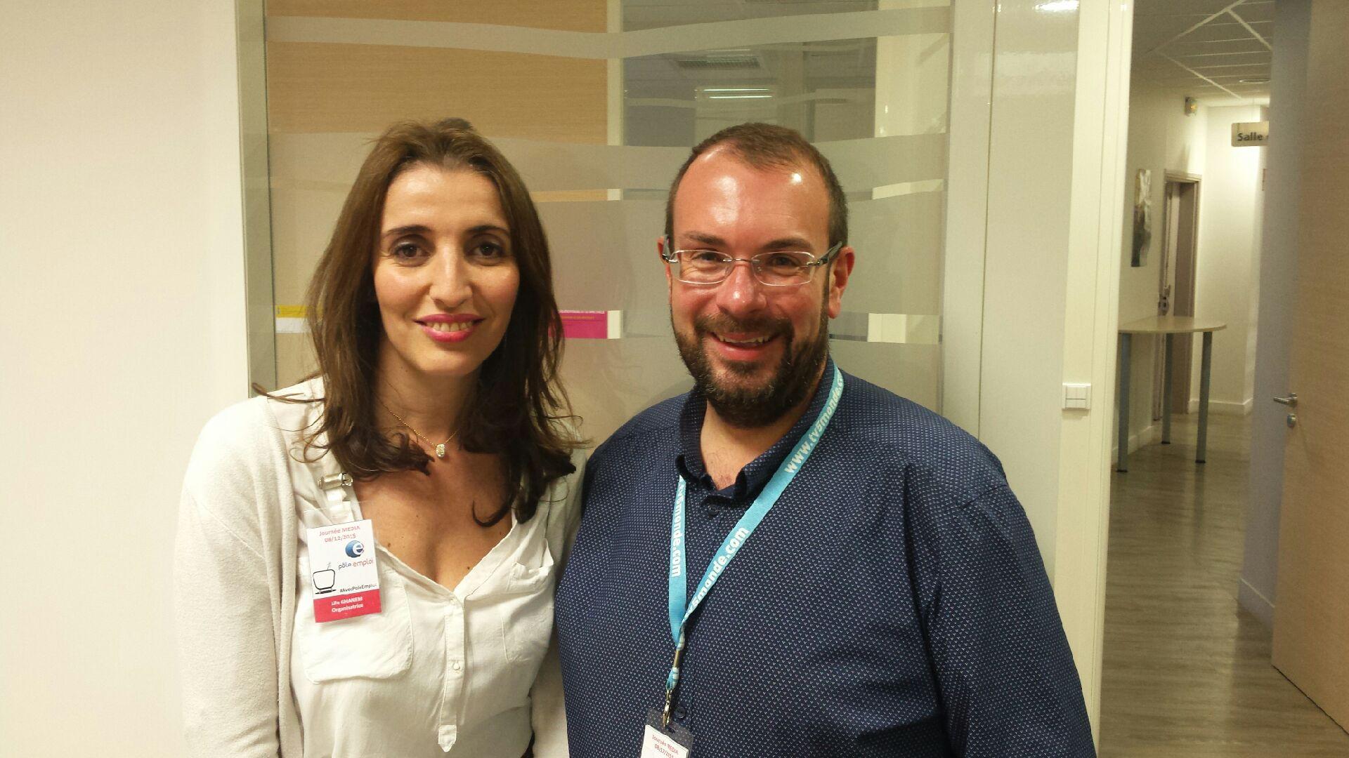 Lila Ghanem et Jason Jobert, du Pôle Emploi Audiovisuel IDF, seront présents au Salon de la Radio pour rencontrer les visiteurs