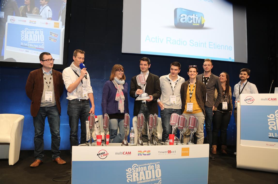 Les Prix ON'R (31 971 votes certifiés par Multivote) ont récompensé 9 radios (dont ici Activ Radio) ainsi que deux entreprises (ITAS-tim et Broadcast-associés). Paul Guibouret (Save Diffusion) a quant à lui reçu le Prix Maurice Chapot