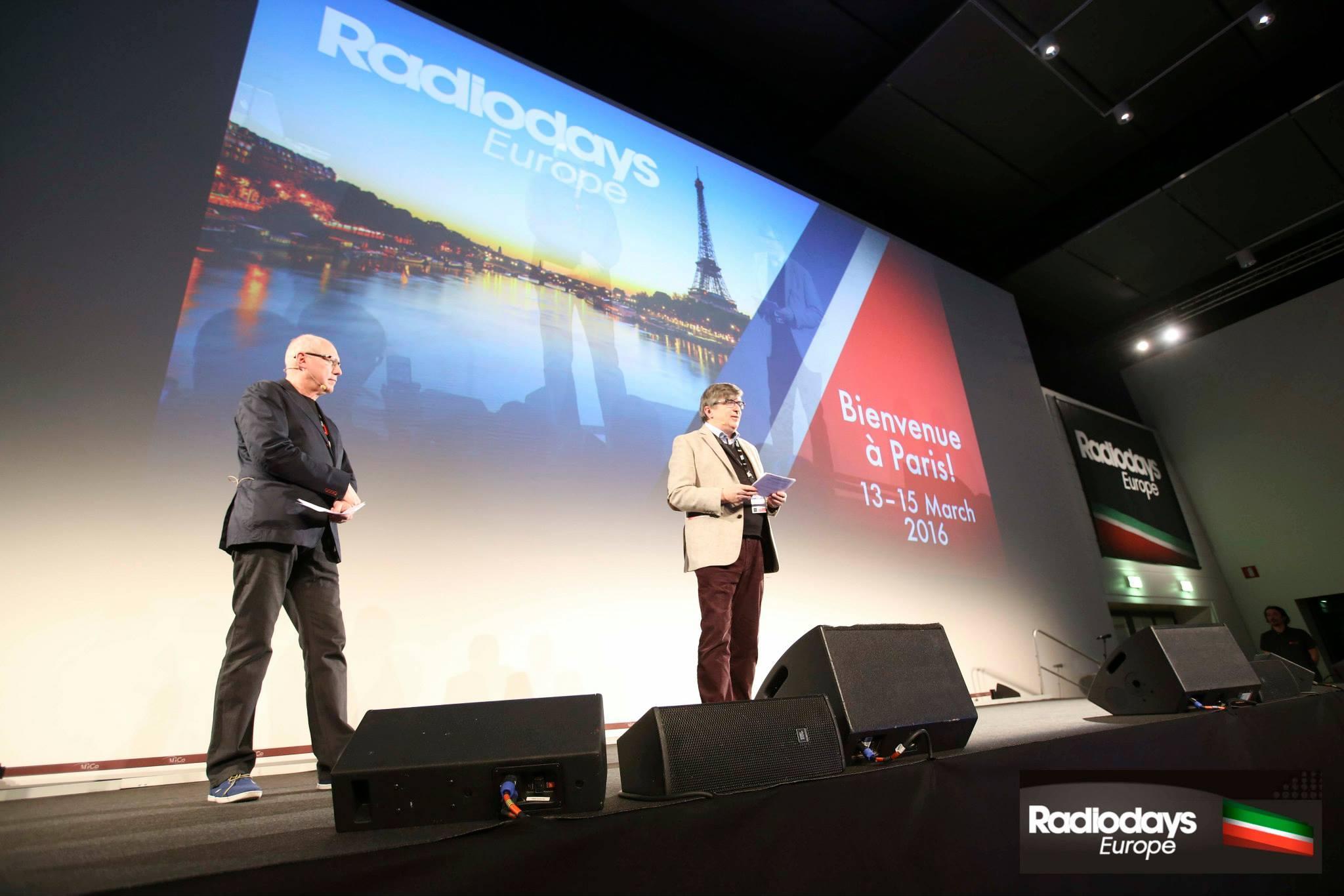 Le suédois Anders Held et le norvégien Rolf Brandrud : les organisteurs des Radiodays Europe