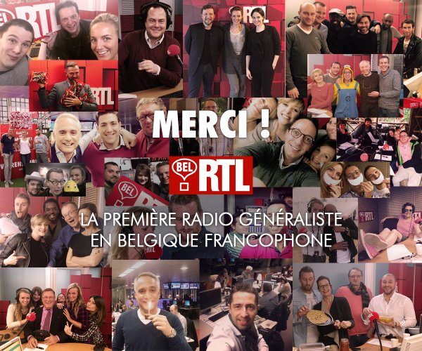 Bel RTL et Radio Contact leaders des radios francophones