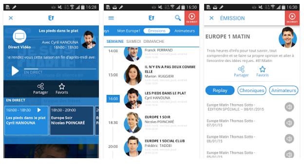 Europe1.fr : premier site radio sur le mobile