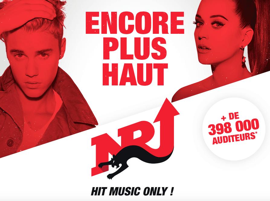 En Belgique, NRJ Group (NRJ, Nostalgie et Chérie FM), avec plus de 832 700 auditeurs quotidiens à l'écoute des trois stations, atteint une part de marché de 18.7%