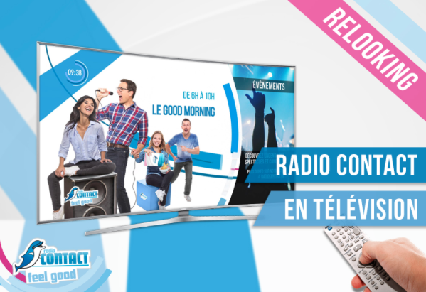 Radio Contact évolue en télévision