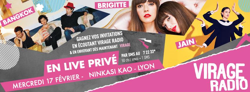 """Virage Radio lance ses """"Lives Privés"""""""
