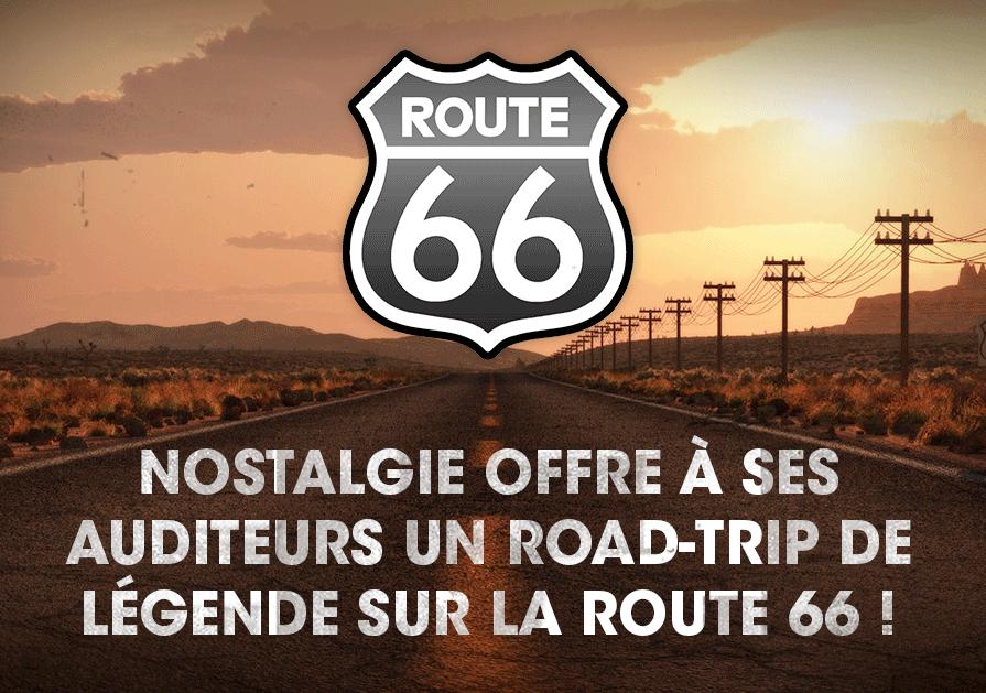 Nostalgie emmène ses auditeurs sur la Route 66