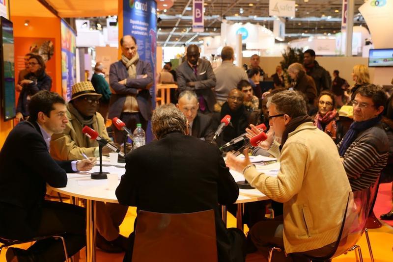 Les conférences du Cirad et de l'AFD auront lieu tous les jours du lundi au vendredi pendant le Salon international de l'agriculture à Paris. © M. Adell - Cirad
