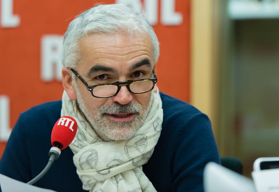 """Pascal Praud aux commandes de """"On refait le match"""" © Damien Rigondeaud / RTL.fr"""