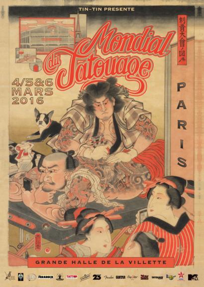 La Ferarock au Mondial du Tatouage