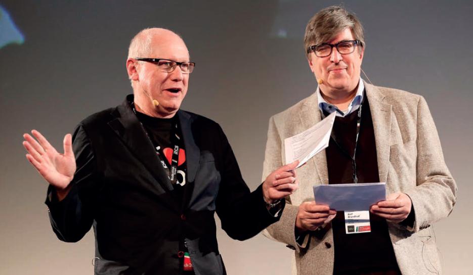 Anders Held et Rolf Brandrud ont préparé cette nouvelle édition des Radiodays Europe © Conor McCabe
