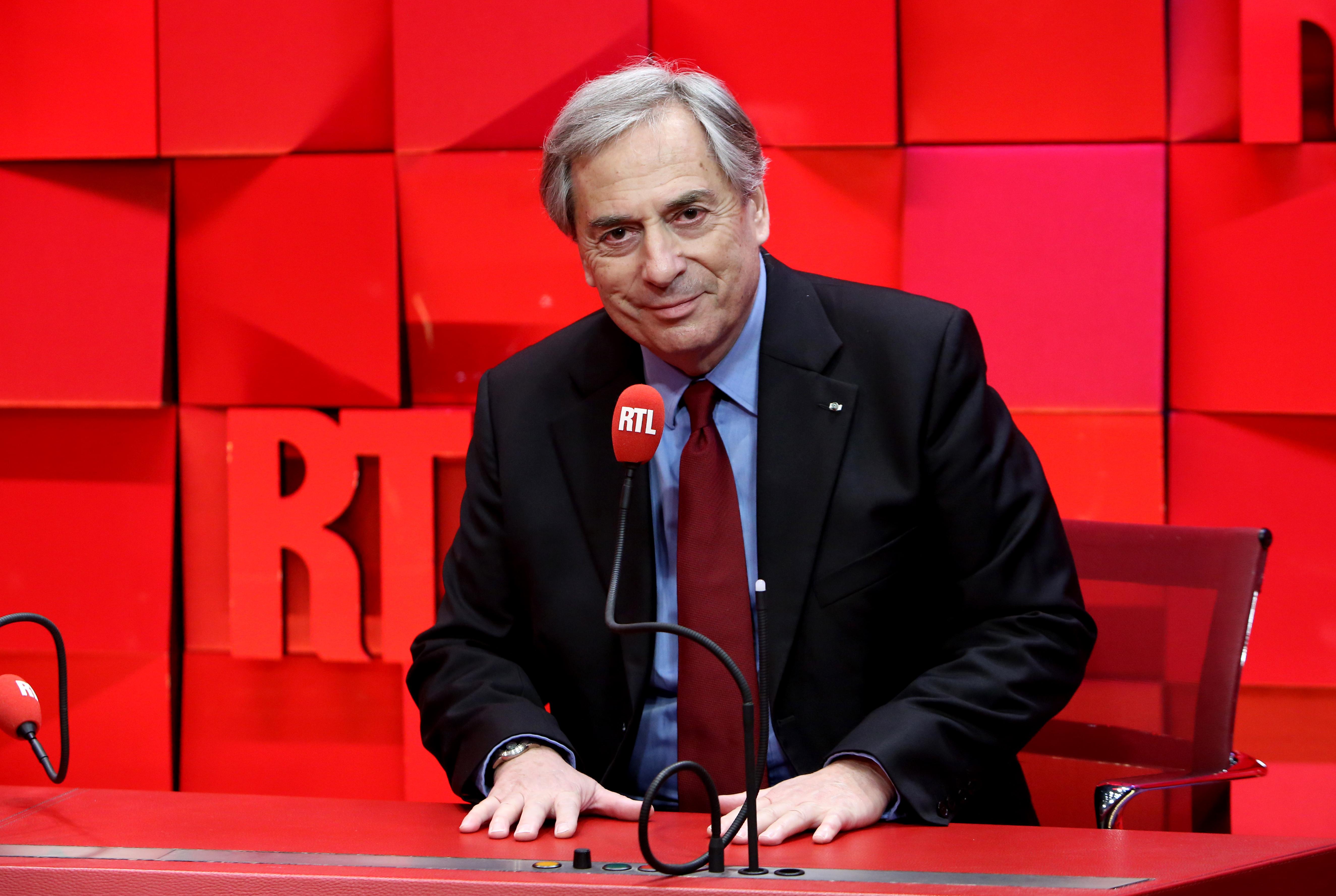 Jean-Louis Moncet désormais spécialiste F1 de RTL © Fred Bukajlo / Sipa Press