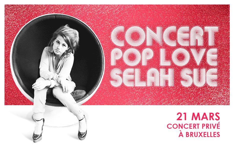 Selah Sue en concert avec Chérie FM Belgique