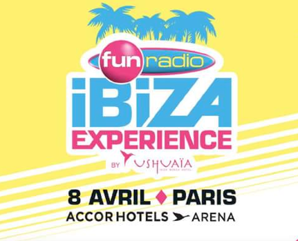 """La """"Fun Radio Ibiza Expérience"""" affiche complet"""