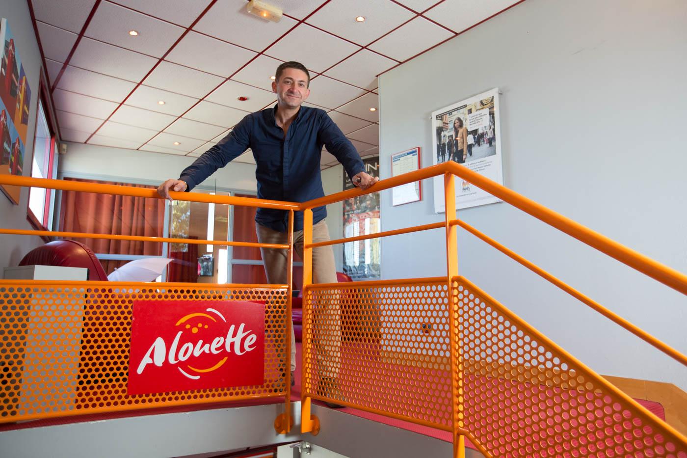 Denis Le Bars, directeur des rédactions d'Alouette depuis deux ans. © Alouette SAS