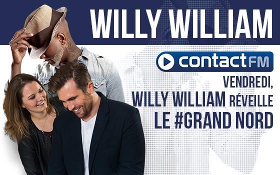 Willy William devient animateur sur Contact FM