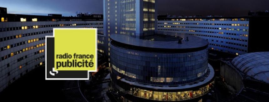 Plus de publicité sur Radio France