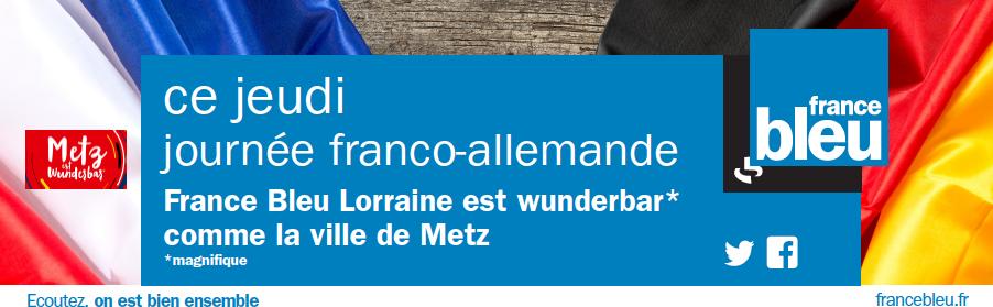 France Bleu Lorraine à l'heure franco-allemande