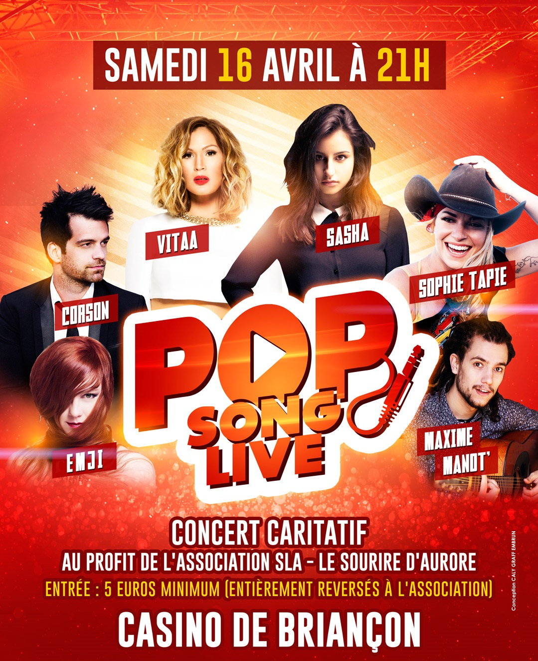 "Un ""Pop Song Live"" avec Radio Imagine"