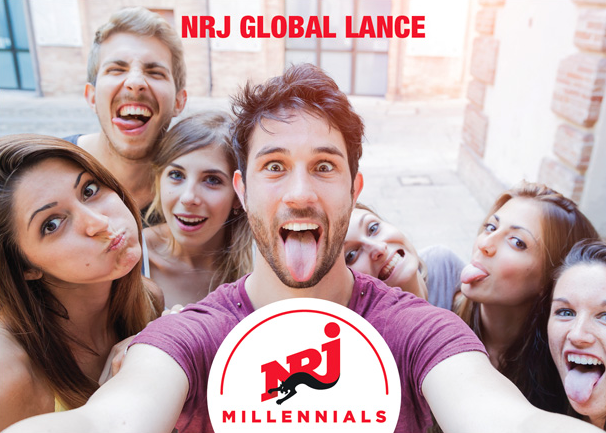NRJ Global lance NRJ Millennials