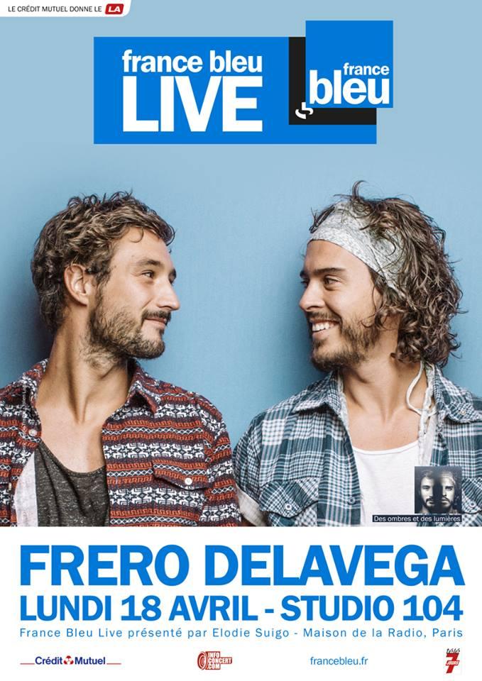 France Bleu Live avec Frero Delavega