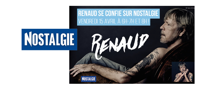 Renaud se confie sur Nostalgie