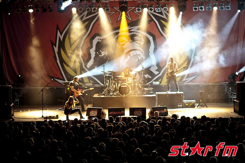 Star FM présente de nombreux concerts rock. © Star FM