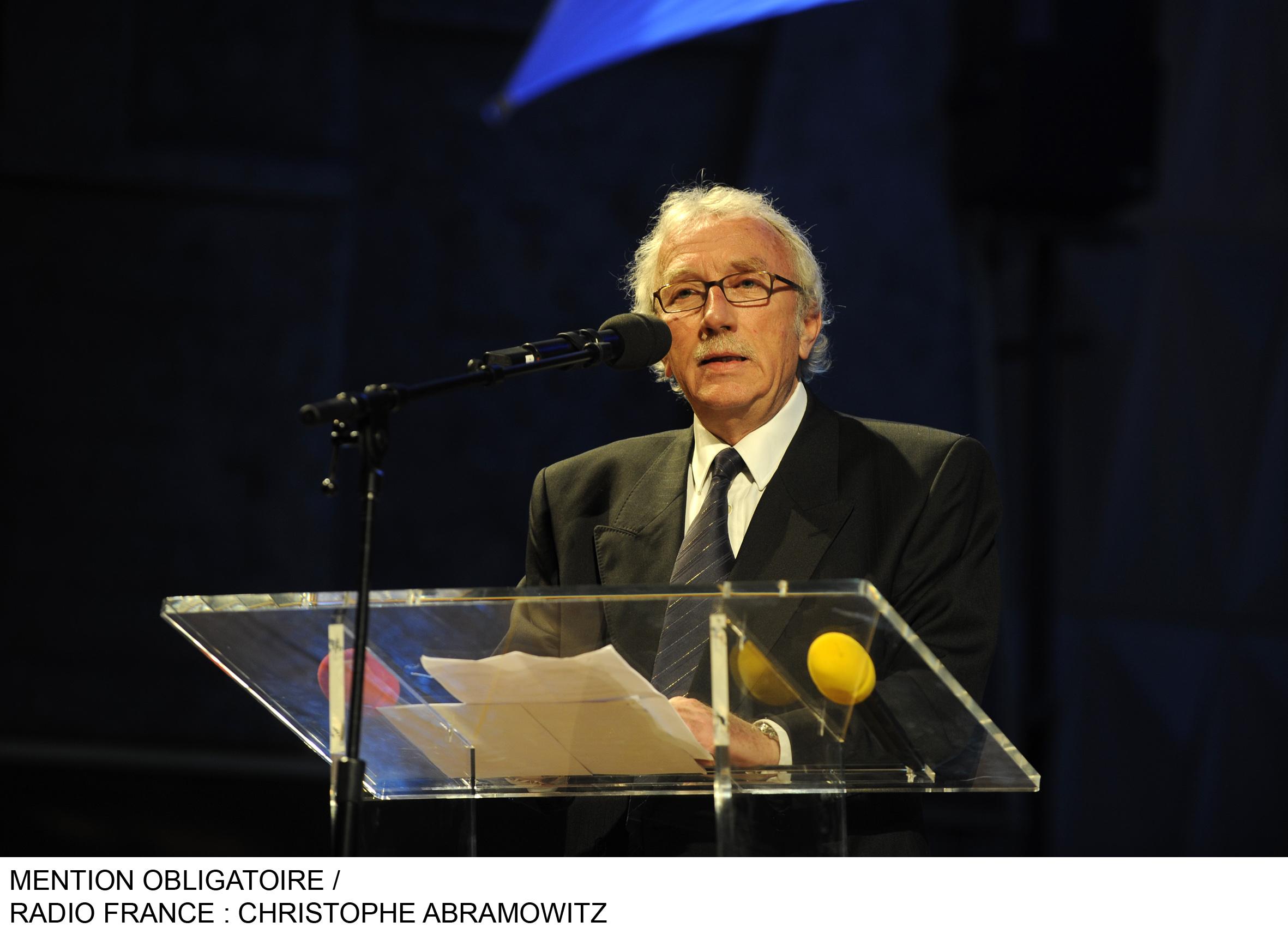 Jacques Vendroux fêtera 50 ans de carrière le 10 mai / Photo Radio France / CA