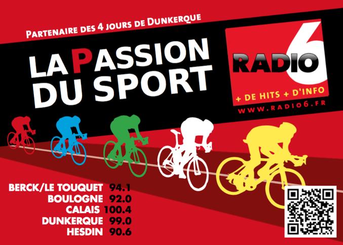 Radio 6 au cœur des4 jours de Dunkerque