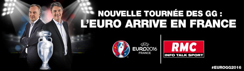 Euro 2016 : les GG en tournée sur RMC