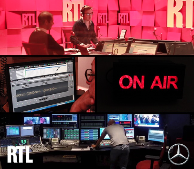 IP France : la première campagne radio de live advertising