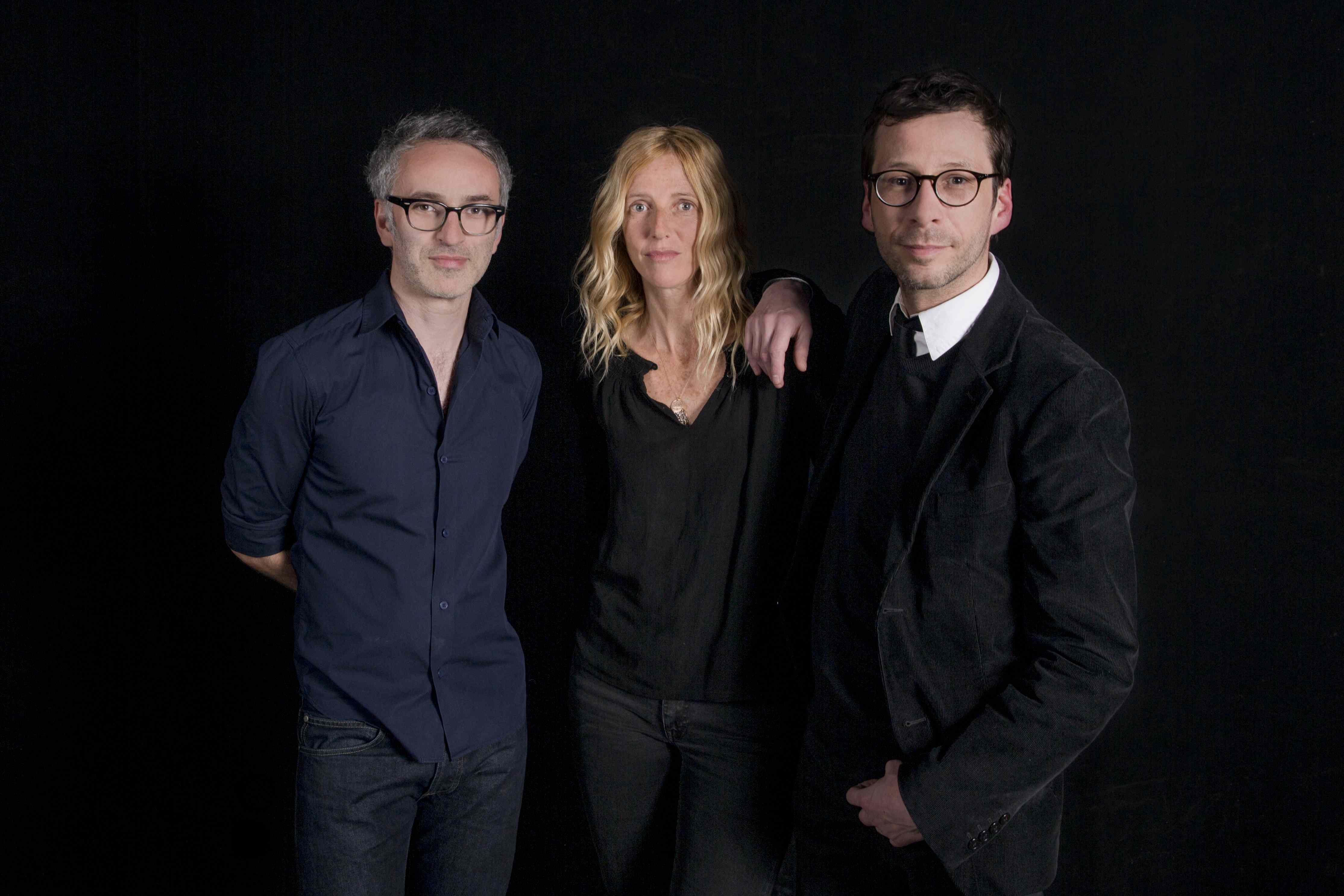 Vincent Delerm, Sandrine Kiberlain et Alex Beaupain © Eric Frotier de Bagneux - Capa Pictures