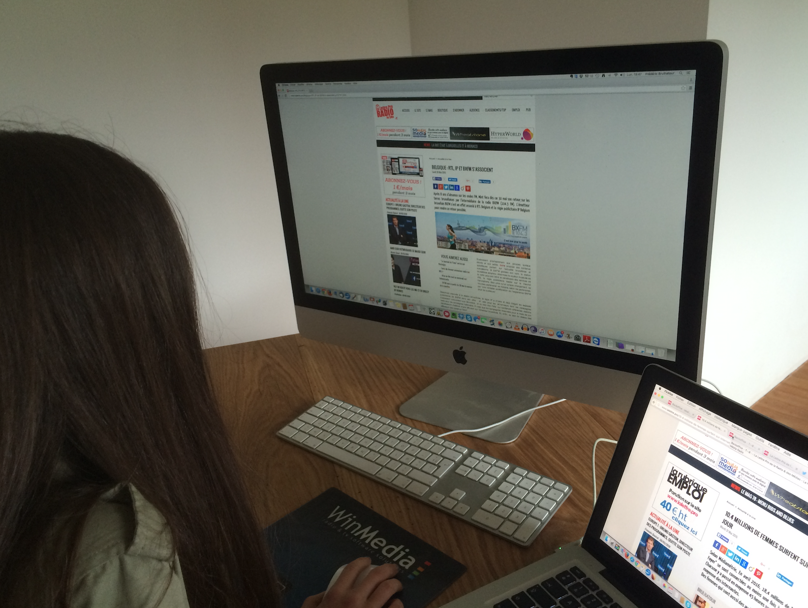 10.4 millions de femmes surfent sur Internet chaque jour