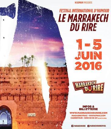 Rire & Chansons partenaire du Marrakech du Rire