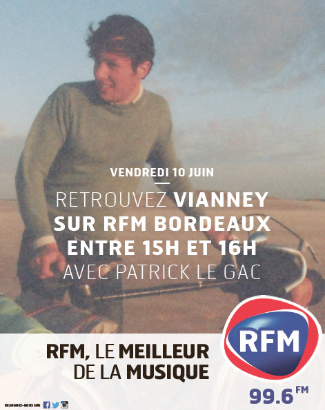 "Le ""Meet and Greet"" de Vianney sur RFM Bordeaux"