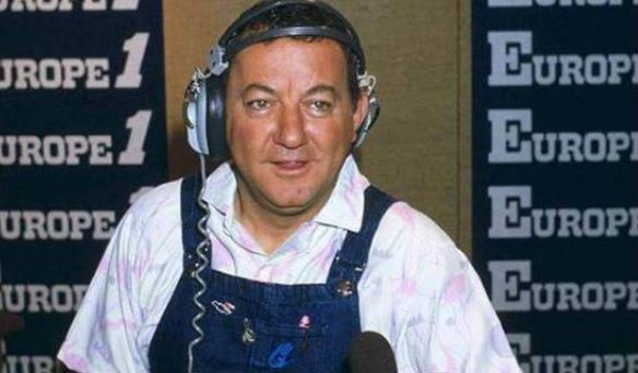 Europe 1 : Coluche au micro de Thomas Sotto
