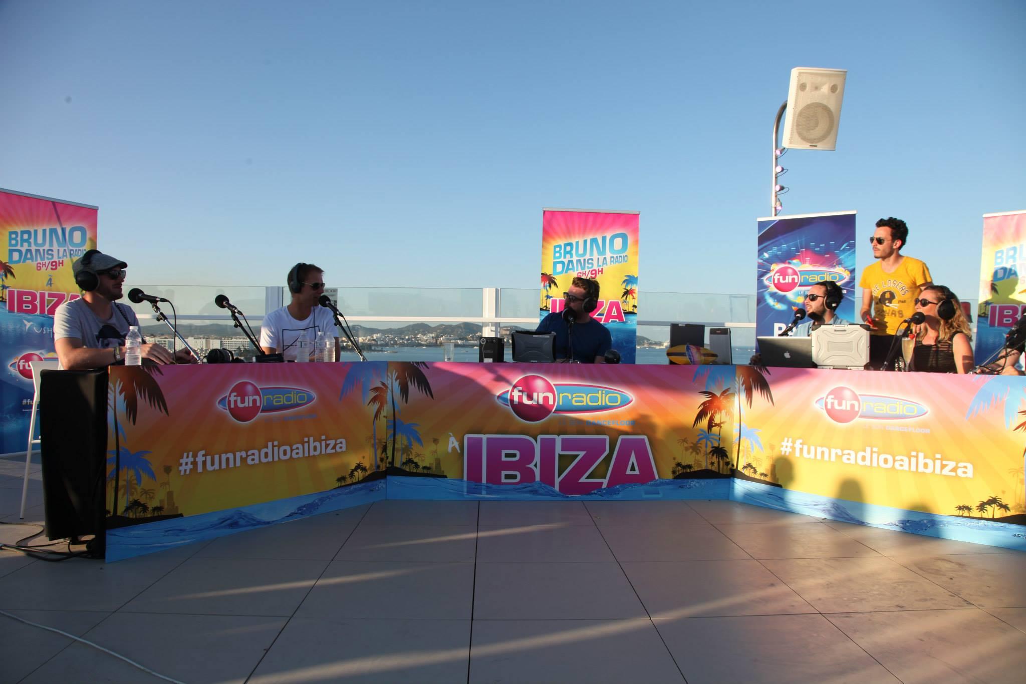 Bruno Guillon sera aussi du voyage à Ibiza © Fun Radio