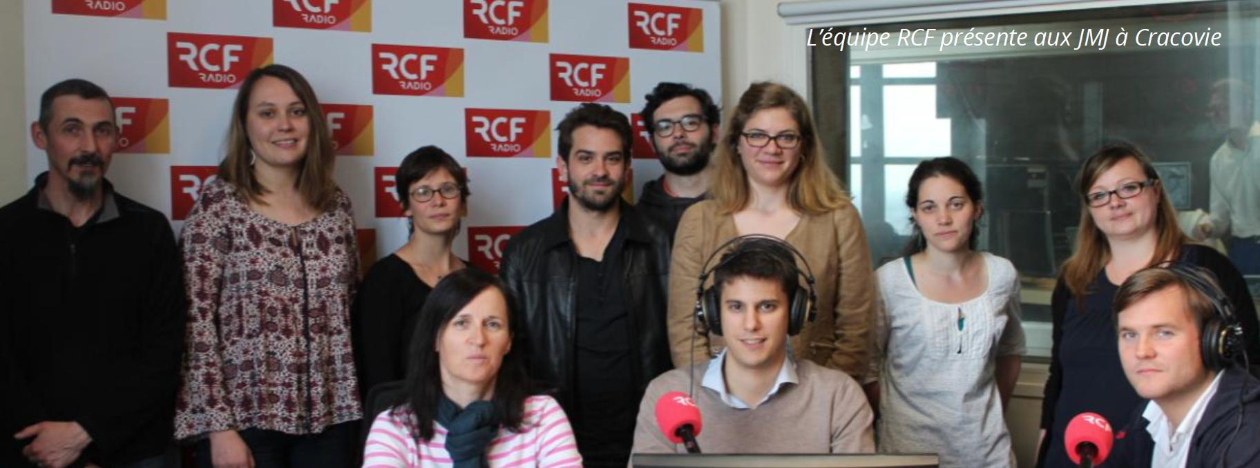 L'équipe de RCF qui sera présente lors des JMJ à Cracovie