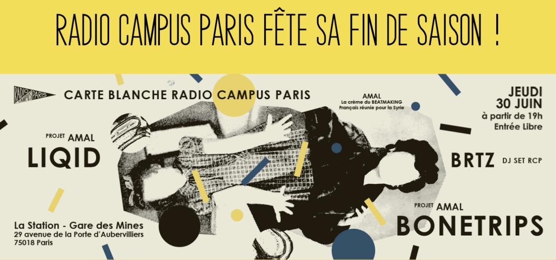 Radio Campus Paris fête sa fin de saison
