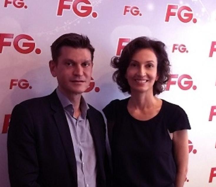 Antoine Baduel et Audrey Aoulay